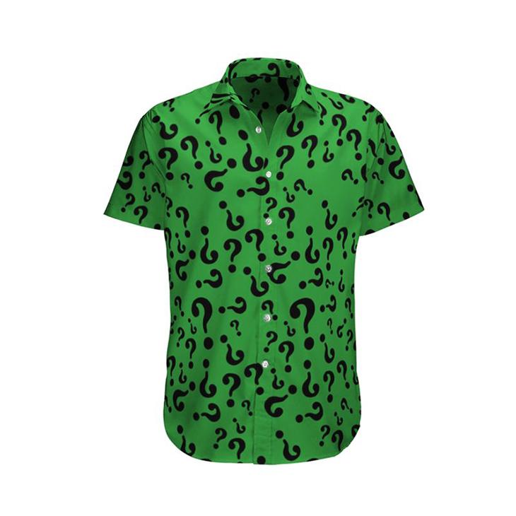 Riddler edward nygma Hawaiian Shirt