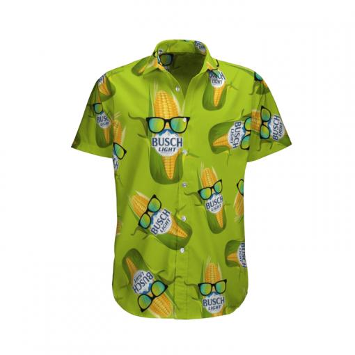 2 Busch Light Corn Hawaiian Shirt And Short 1