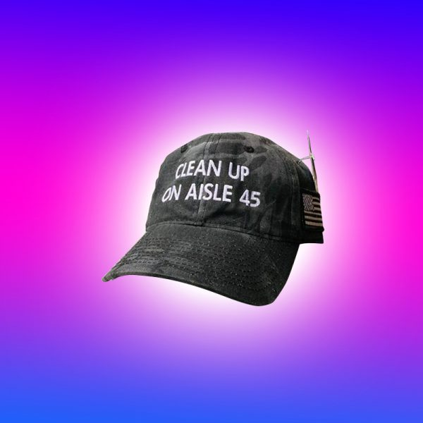 CleanUp On Aisle 45 hat