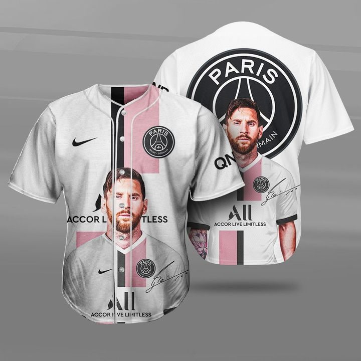 Lionel Messi PSG Paris Saint Germain 3d Hoodie and Shirt7