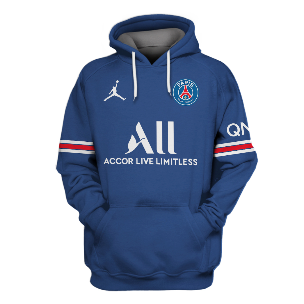 PSG Messi 3d hoodie and shirt2