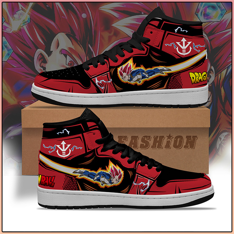 Dragon Ball Vegeta God Air Jorden high top sneaker Shoes3