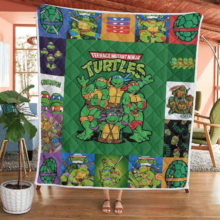 Teenage Mutant Ninja Turtles Quilt Blanket4