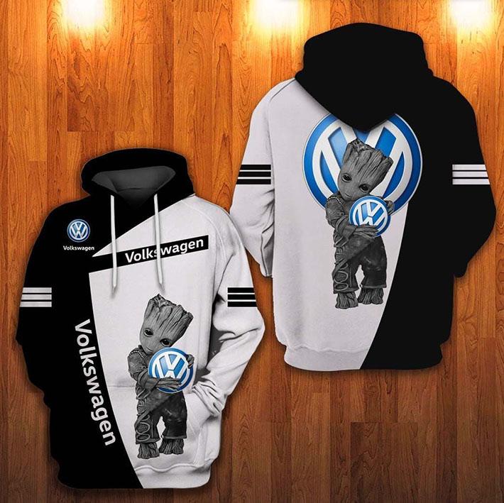 Groot Volkswagen Logo 3D Hoodie