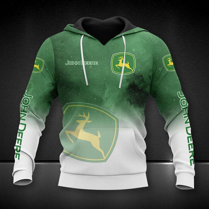 John Deere Logo 3D Hoodie Shirt