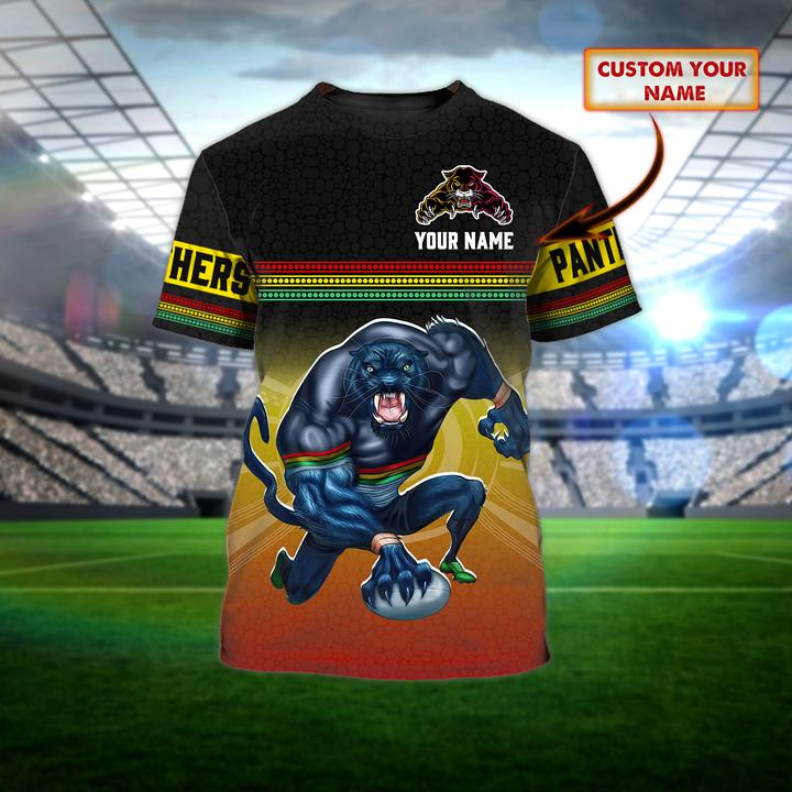 Penrith Panthers custom personalized 3d t shirt 1