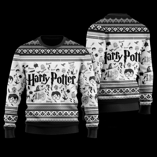Harry Potter ugly christmas sweater 1