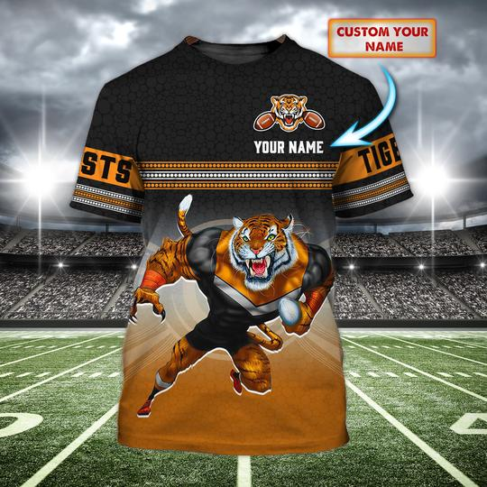 Personalized Wests Tigers personalized 3d t shirt 1