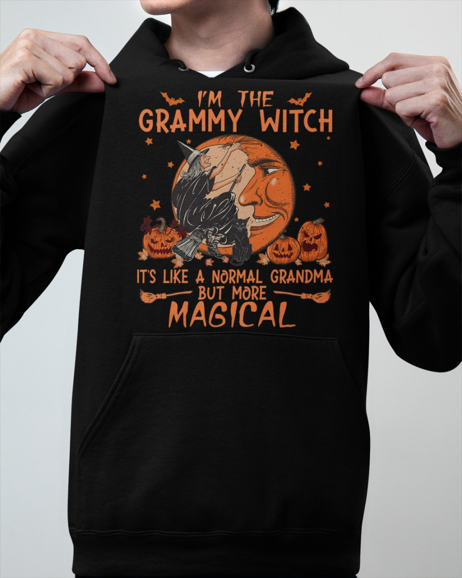 Im The Grammy Witch Its Like A Normal Grandma But More Magical Shirt Hoodie1