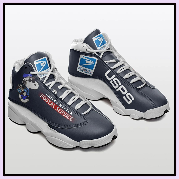 Snoopy United States Postal Service Air Jordan 13 Shoes2
