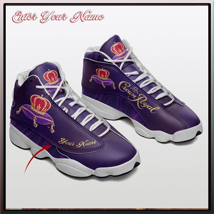 Crown Royal United States Postal Service Custom Name Air Jordan 13 Shoes
