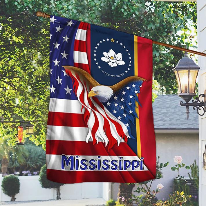 American Eagle Mississippi Flag1