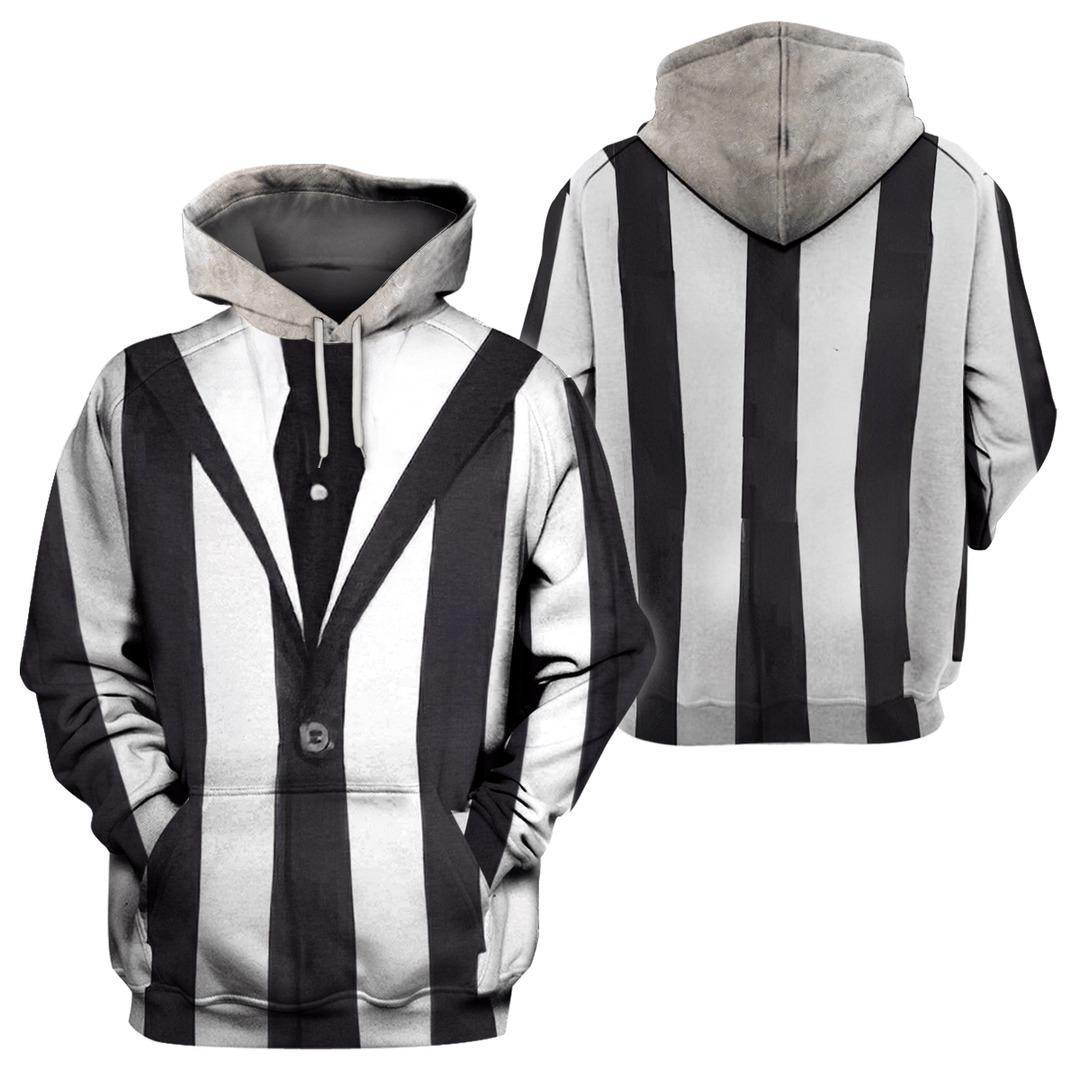 Michael Keaton Beetlejuice Halloween 3D Hoodie Sweatshirt
