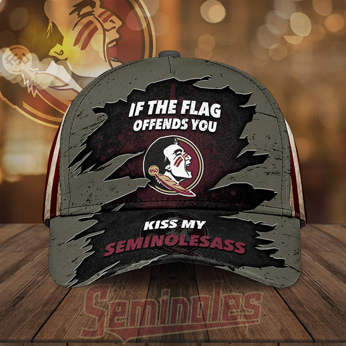 If The Flag Offends You Kiss My Seminolesass Cap Hat